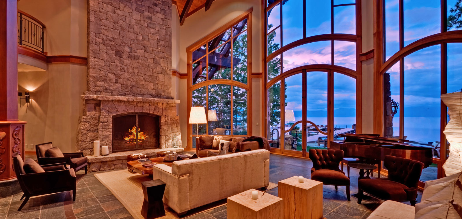 Fireplace View - Duane Wright Realty